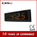 [Ganxin] 1 polegada amarelo mini mesa Digital World Time LED Clock