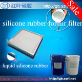 Flange FrameのAir Filterのための液体のSilicone Rubber