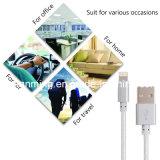 USB серебряного цвета Nylon Braided к кабелю молнии 8pin