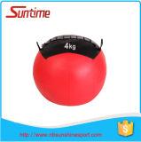 Nouvelle boule de mur de forme physique, medicine-ball, boule en cuir de gymnastique, boule de mur de Crossfit, medicine-ball de Crossfit, medicine-ball en cuir d'unité centrale