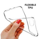 Tampa protetora da caixa da pele macia flexível desobstruída fina ultra magro do gel de TPU para o iPhone 7 de Apple