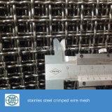 Закрепленный нержавеющей сталью экран ячеистой сети для сетки