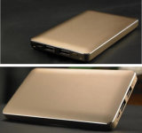ユニバーサル携帯電話のために合う新しいCasunのモデル極めて薄い金属の箱8000mAh力バンク