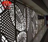 Подгонянные панели анти- выскальзования Perforated алюминиевые для листа металла строительного материала стены