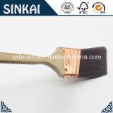Brosses de peinture à angles de long traitement de bois dur