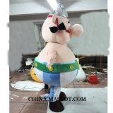 Traje de la historieta de la mascota de Obelix