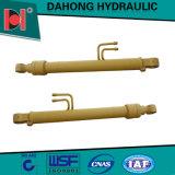 Cylindres hydrauliques télescopiques de levage à simple effet utilisés pour le camion à benne basculante