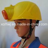 Chine Haute qualité anti-explosion Caps sécurité LED pour mineurs, la sécurité minière Lampe Cap Lampe LED, Casque de sécurité avec LED rechargeable Lampes Head