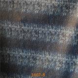2016の新しいデザイン綿の裏付けの技術PVC家具の革Stocklot