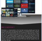 La casella Android della TV ha supportato il servizio di Mickyhop di film 3D