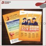 2016 más caliente de la impresión de folletos y volantes, folletos, impresión de folletos en China