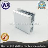 Orificio de cristal de la abrazadera del montaje cuadrado de la pared en vidrio