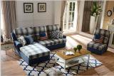 Sofá ajustado da tela da fábrica do sofá da mobília para o sofá Home