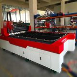 Máquina de la marca del grabado del corte del laser del metal de la fibra del CNC