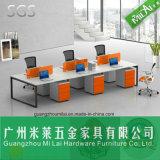 Mobília contemporânea da mesa do computador de escritório do frame da tabela do metal