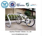 3 cremalheiras do carrinho da bicicleta da capacidade das bicicletas