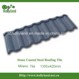 Corrugated стальная плитка толя с камнем покрыла (плитка Milano)