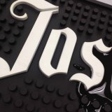 Neues Fashion Custom 2D oder 3D Logo PVC Bar Mat