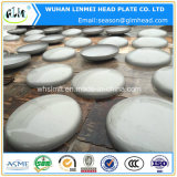 Steel inoxidable Dish Head para Pressure Vessel Caps