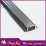 Ajuste de aluminio de la baldosa cerámica de la protuberancia del perfil del azulejo de la pared