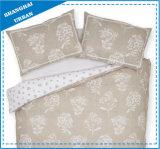 自然なデザイン麻布のように印刷された綿の羽毛布団カバー寝具
