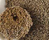 Песок кота бентонита натрия природы круглый в желтом цвете