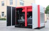 compresseur d'air piloté par Driect injecté par pétrole de vis de 300HP Changhaï