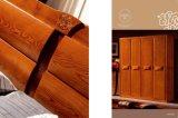 غرفة نوم أثاث لازم [سليد ووود] أداة تسوية مع مرآة
