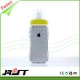 Бутылка 3D новой ниппели молока младенца имитации милой подавая мягкое аргументы за iPhone6/6s мобильного телефона TPU и кремния (RJT-0138)
