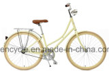 Rétro vélo de ville du modèle 2017 neuf avec le vélo de ville de panier/cru/vélo hollandais/vélo de ville