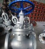 API600 a bridé le robinet d'arrêt sphérique d'acier inoxydable d'extrémités (J41H)