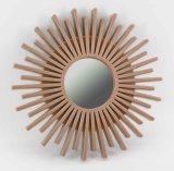 Espelho da parede da injeção do girassol para a parede Home Deco