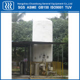 Vakuumkälteerzeugender Sauerstoff-Sammelbehälter