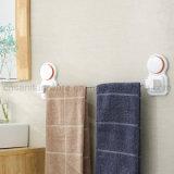 空気吸引のコップが付いているステンレス鋼のタオル掛けの浴室タオルの棚は吸収する