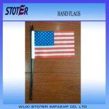 La main faite sur commande d'indicateurs tenus dans la main de bonne qualité marque des indicateurs de bâton de main de polyester