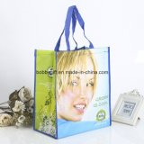 Sacco di mano tessuto pp riciclato promozione