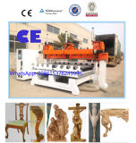 5 multi cabeças da linha central que cinzelam a máquina para o Woodworking