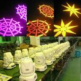 小型60W LEDの移動ヘッド点の洗浄壁ライト