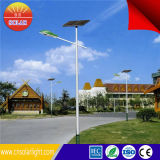 低いVoltage Aluminumn 10mポーランド人80W Solar LED Street Light Price