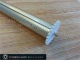 De geanodiseerde Buis van de Rol van het Aluminium Blinde Hoofd met Kappen