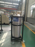 Indústria e cilindro criogênico médico do vaso Dewar do dióxido de carbono do oxigênio do nitrogênio