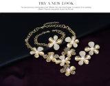 アクセサリの合金4 PCSの一定の方法アフリカの花の花嫁の金宝石類の着服