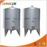 Réservoir de stockage sanitaire d'acier inoxydable de qualité pour le lait/Bevrage