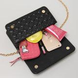 7つのカラー新しいデザイナーPUの掛け金デザイナーハンドバッグ(A031)
