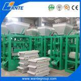 Fabricante manual do bloco do cimento Qt4-24, 6 polegadas de bloco da cavidade que faz a máquina