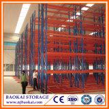 Rek van de Pallet van het Pakhuis van de Opslag van het Staal van China Nanjing Baokai het Selectieve