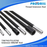 Extension Drifter Speed Mf mm Threaded Drill Steel Rod