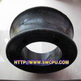 自動装置(SWCPU-R-P740)のための産業カスタムゴム製ワイヤーローププーリー