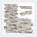 Pierre de marbre de culture pour le revêtement de mur de décoration de villa