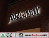 Segni Backlit LED acrilici della lettera della Manica di placcatura di pubblicità esterna di prezzi all'ingrosso